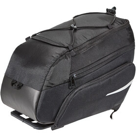 VAUDE Silkroad Plus Alforja i-Rack, black